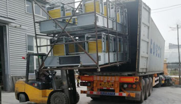 Delivery Full Automatic Layer Chicken Cage to Pakistan